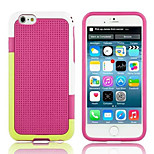 HHMM® Multicolor Grid Plastic And TPU Soft Case for iPhone 6(Assorted Colors)