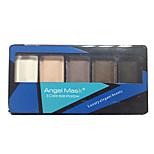 5 Eyeshadow Palette Dry Eyeshadow palette Powder Normal