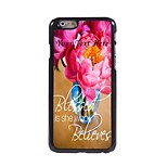 Personalized Phone Case - Blessed Design Metal Case for iPhone 6 Plus