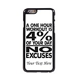 Personalized Phone Case - 4% Design Metal Case for iPhone 6 Plus