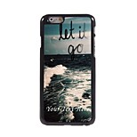 Personalized Phone Case - Let it Go Design Metal Case for iPhone 6 Plus