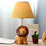 40W LED The Lion King Yellow Lampshade Dimming Small Table Lamp 220V