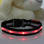 Highlight LED Flash Collar for Dogs Four Colors(Assorted Size,Assorted Color)