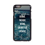 Personalized Phone Case - Be Brave Design Metal Case for iPhone 6 Plus