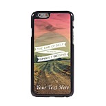 Personalized Phone Case - The End of Self Design Metal Case for iPhone 6 Plus
