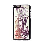 Personalized Phone Case - THE DREAMCATCHER Design Metal Case for iPhone 6 Plus