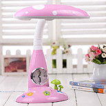 5W Lovely Cartoon Energy Saving Student Reading Lamp With Clock 220V