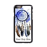 Personalized Phone Case - Colorful DreamCatcher Design Metal Case for iPhone 6 Plus