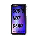 Personalized Phone Case - God's Not Dead Design Metal Case for iPhone 6 Plus