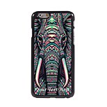 Personalized Phone Case - The Elephant Design Metal Case for iPhone 6 Plus