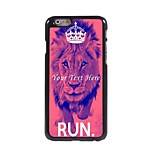 Personalized Phone Case - The Lion Design Metal Case for iPhone 6 Plus