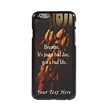 Personalized Phone Case - Just a Bad Day Design Metal Case for iPhone 6 Plus