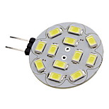 G4 6 W 12 SMD 5730 570 LM Warm White/Cool White Spot Lights DC 12 V