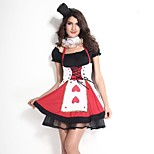 Royal Red Queen Deluxe Women Carnival Costume