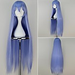 Akame ga KILL! Esdeath Extra Long Straight Light Purple Color Anime Cosplay Wig