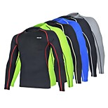 Arsuxeo  Men's  Base Layer Running Fitness Excercise Cycling Soccer football Hocky Lycra Wear Shirts Compression Jersey