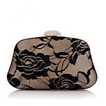 Moonflower Women's Elegant Solid Color Fold Party Bag