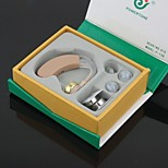 Digital BTE Best Sound Amplifier Adjustable Tone Hearing Aids Aid N-H Deaf Acousticon Receiver