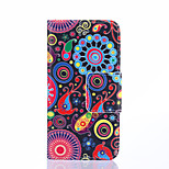 High Quality Fashion Design COCO FUN® Jelly Fish Pattern PU Leather Wallet Case Cover for Sony Z4