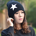 Pentagram hip-hop Winter Wool Blends Beanie/Slouchy Hat