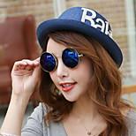 Women Summer Straw Fedora Hat