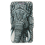 Kinston® Left Side Of the Elephant Pattern PU Leather Full Body Cover with Stand for Huawei Honor 4X/Honor Che1-CL20