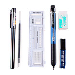 Writing Sets for Examinations(Ruler, Gel Pen, Pencil, Eraser, Cartridge)