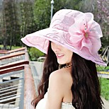 Women Vintage/Cute/Party/Casual Summer Flower Lace Floppy Hat