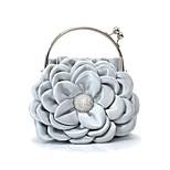 Handbag Luxurious Satin Evening Handbags/Clutches With Flower