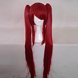 Haiyoru! Nyaruani Kuuko Cthuko Red Twintails Cosplay Wig