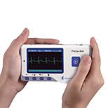 curar força de cor digital mini-portátil blue tooth ecg ekg monitor de eletrocardiograma portátil ver Inglês pc-80a.