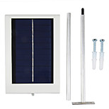 y-solar 12 llevó la lámpara solar de iluminación por sensores panel solar accionado llevó la luz de la calle camino al aire libre sl1-1 pared