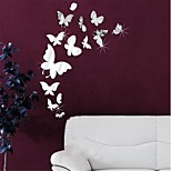 Animals / 3D Wall Stickers Mirror Wall Stickers Decorative Wall Stickers,PS Material Removable Home Decoration Wall Decal