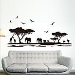 etiquetas removíveis ambientais pvc savana africano&adesivo