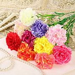 Set of 4 Natural Style Simulation Carnation Flowers