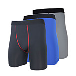 Running Compression Clothing / Shorts / Pants/Trousers/Overtrousers / Bottoms Men'sBreathable / Quick Dry / Anatomic Design / Wearable /