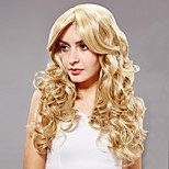 European and American Fashion New Golden Fleeciness Small Volume Hair Wigs