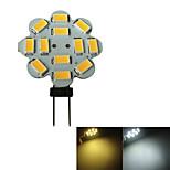 G4 3W 12x5630SMD 250-270LM 3000-3200K Warm White Light/White Light Torx Shaped Light LED Spot Bulb (DC 12V)