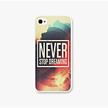 Never Pattern PC Phone Back Case Cover for iPhone5C