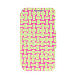 Kinston® Knitting Color Pattern PU Leather Full Body Cover with Stand for Huawei Honor 3C