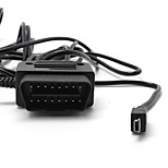 3.5Meter  Mini 5pin USB Interface OBD Charger For Car Camera,Gps,E-dog