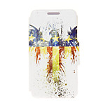 Kinston® American Eagle Pattern PU Leather Full Body Cover with Stand for HTC One M9 Plus/ HTC One M9+