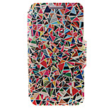 Kinston® Geometry Pattern Full Body PU Cover with Stand for HTC One M7/M8/M9 and HTC Desire 816/826/Eye