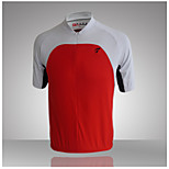Others Women's Cycling Tops Short Sleeve Bike Summer Breathable / Quick Dry / Front Zipper / Anatomic Design / Wicking / Back Pocket RedS