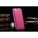 Premium Leather Wallet Case Metal Bumper Frame Case Cover for iPhone 6