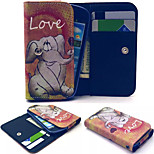Elephant Baby Leather Wallet style Full Body Case and Card Slot for Sony Xperia M4 Aqua