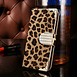 Crystal Sparkling Leopard Diamonds Full Body Case for iPhone 6(Assorted Color)