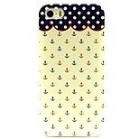 Anchor Pattern TPU Soft Back Case for iPhone 5/5S