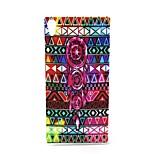 Fashion Design COCO FUN® Campanula Tribe Pattern Soft IMD TPU Case Cover for Sony Z4