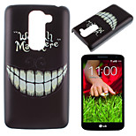 Tooth Pattern PC Phone Case for LG G2 mini